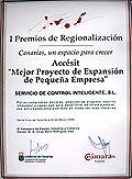 I premio regionalizacion